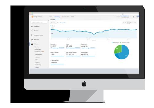SEO Google Analytics, Online Marketing Search Bees